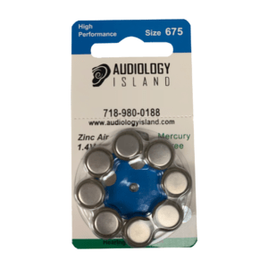 Hearing Aid Batteries Size 675 1 pack of 8