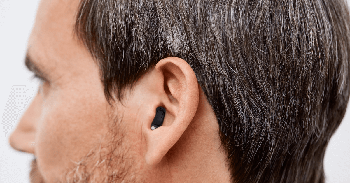 using invisible hearing aids